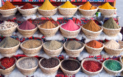 Oriental spice market